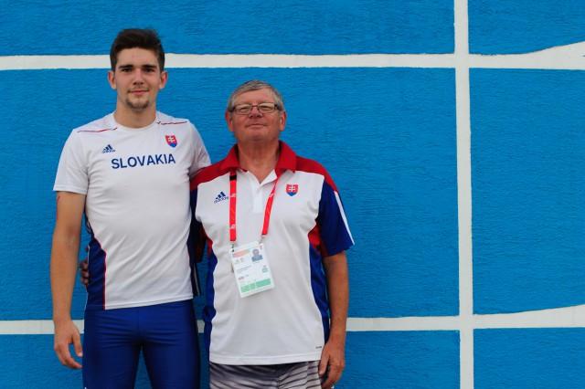 Adrian Baran Vladimír Bezdíček, Európsky olympijsky festival mládeže, Štvrtok, 30. Júla 2015, Tbilisi, Gruzínsko