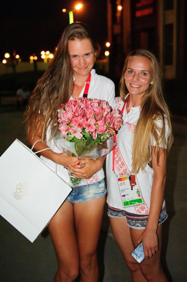 Adriana Šenkárová, Sára Polyaková, Európsky olympijsky festival mládeže, Pondelok, 27. Júla 2015, Tbilisi, Gruzínsko