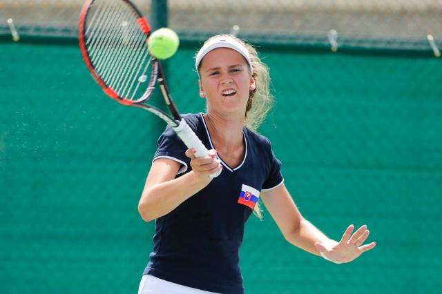Adriana Šenkárová, tenis, Európsky olympijsky festival mládeže, Pondelok, 27. Júla 2015, Tbilisi, Gruzínsko