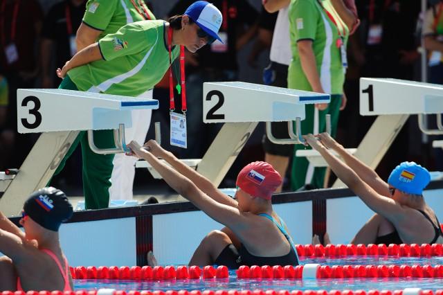 Barbora Tomanová, rozplavby znak, Európsky olympijsky festival mládeže, Pondelok, 27. Júla 2015, Tbilisi, Gruzínsko
