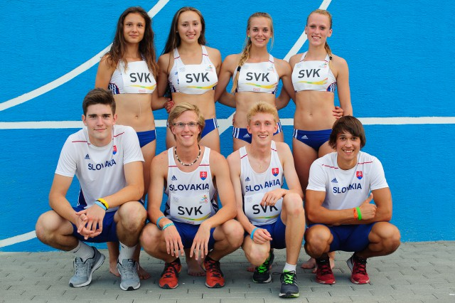 Chlapčenká a dievčenská štafeta 4x100m, Európsky olympijsky festival mládeže, Piatok, 31. Júla 2015, Tbilisi, Gruzínsko
