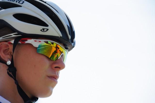 Lucia Michaličková na pretekoch cestnej cyklistiky, Európsky olympijsky festival mládeže, Štvrtok, 30. Júla 2015, Tbilisi, Gruzínsko