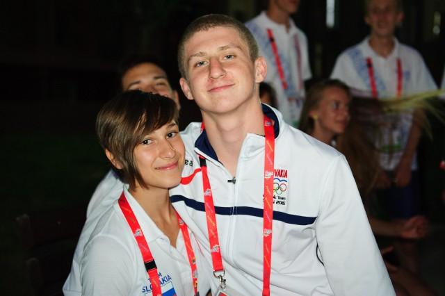 Martin Mokoš a Dominika Kincelová, Európsky olympijsky festival mládeže, Pondelok, 27. Júla 2015, Tbilisi, Gruzínsko