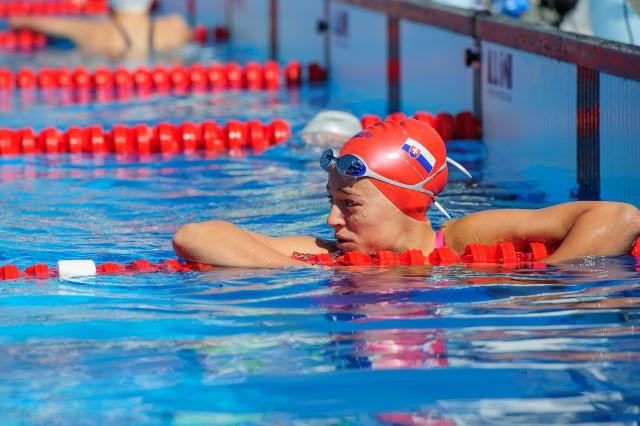 Robin Reindl na plávaní počas Európskeho olympijskeho festivalu mládeže, Streda, 29. Júla 2015, Tbilisi, Gruzínsko