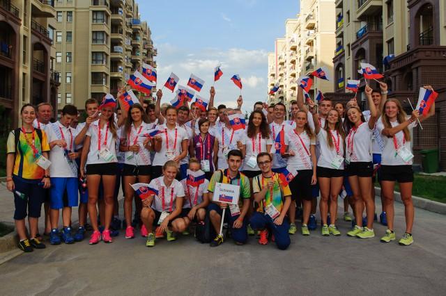 Slovenská delegácia  Európskeho olympijskeho festivalu mládeže, Pondelok, 27. Júla 2015, Tbilisi, Gruzínsko