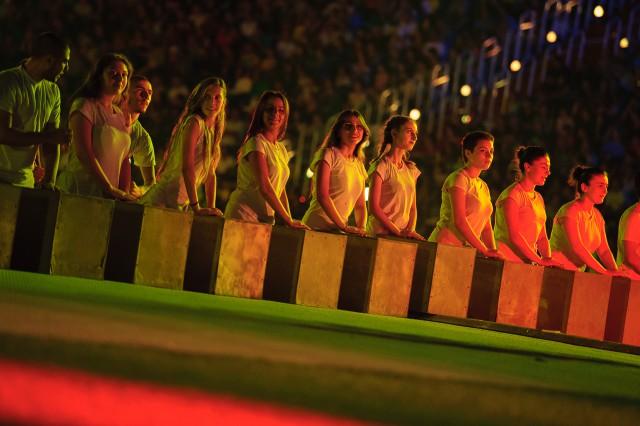 Sprievodný program otváracieho ceremoniálu Európskeho olympijskeho festivalu mládeže, Pondelok, 27. Júla 2015, Tbilisi, Gruzínsko