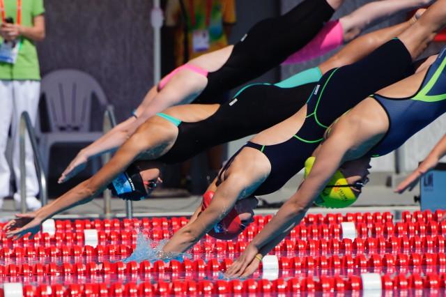 Tatiana Potocká na plávaní počas Európskeho olympijskeho festivalu mládeže, Streda, 29. Júla 2015, Tbilisi, Gruzínsko