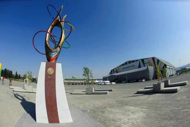 Volejbalová hala, Európsky olympijsky festival mládeže, Štvrtok, 30. Júla 2015, Tbilisi, Gruzínsko